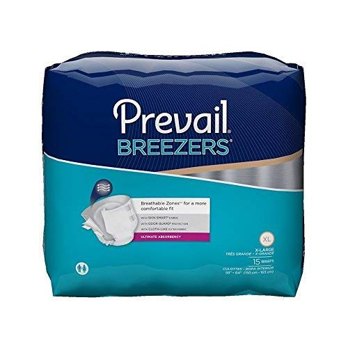 First Quality Units per Pack 15 Breezers by Prevail Adult Br