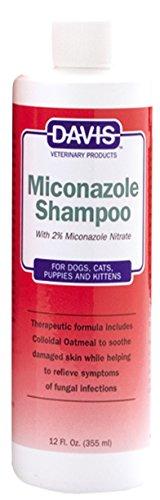 Davis Miconazole Pet Shampoo, 12-Ounce by Davis