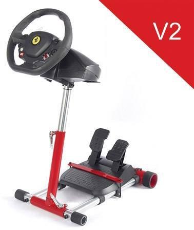Wheel Stand Pro RACE Wheel Stand PRO V2 FOR T100/T80/F458/F430/RGT Storage (Xbox 360 Wheel Ferrari)
