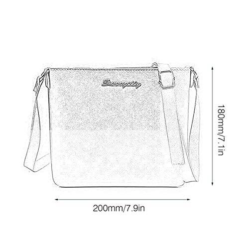 Petite La Fantasyworld D'été Unique Femmes Mode En Sac Bag Épaule Bandoulière À Taille Carré Pu Main Cuir Fille Messenger q44dAxw