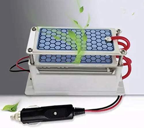 HUOPU Generador de ozono de cerámica 10 g/h Igual a 10000 MG/h Purificador de Aire para Coche Ozonizador DC12V: Amazon.es: Hogar