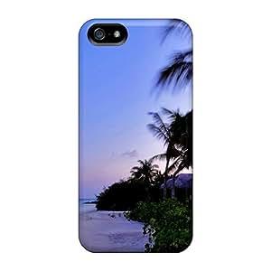 NadaAlarjane Perfect Tpu Case For Iphone 5/5s/ Anti-scratch Protector Case (beach Villa)