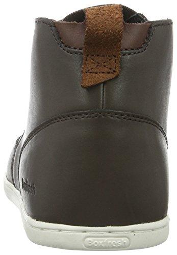 Marrone Sh Alte Symmons Boxfresh Lea Sneaker Uomo Brown Brn Dark Dk 7wxpwnIY5