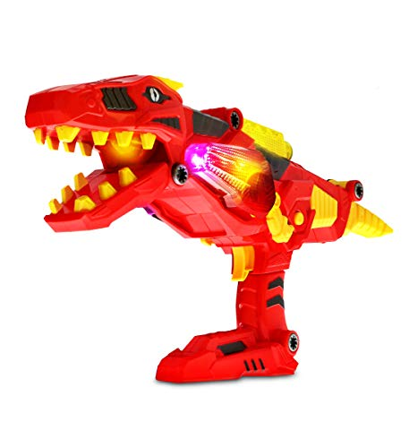 Mozlly Deluxe Lights & Sounds T-Rex Dino Morpher