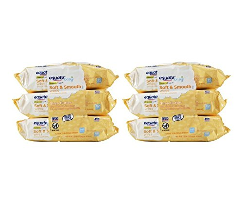 Equate Shea Butter Scented Refill Wipes