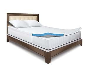 Amazon Com Sleep Innovations 2 Inch Gel Memory Foam