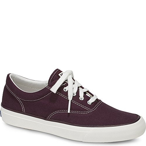 Keds Red Shoes - Keds Women's Anchor Sneaker, Wine, 8.5 M US
