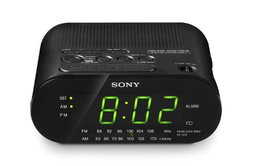 Sony ICFC218 Dream Machine Clock Radio (Black)