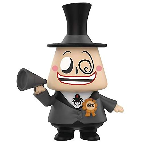 Funko The Mayor: The Nightmare Before Christmas x Mystery Minis Mini Vinyl Figure & 1 PET Plastic Graphical Protector Bundle [32850]