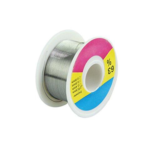 Voberry® 0.3mm Tin Lead Melt Rosin Core Flux Solder Soldering Welding Wire Reel