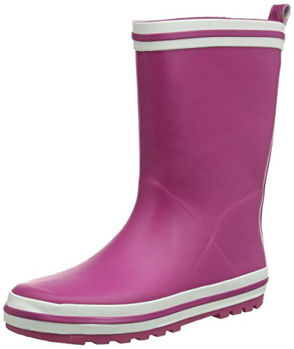 Beck Basic Unisex-Kinder Halbschaft Gummistiefel Pink (pink / 06)