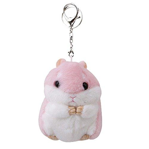 (Women Hamster Plush Keychain,4.7
