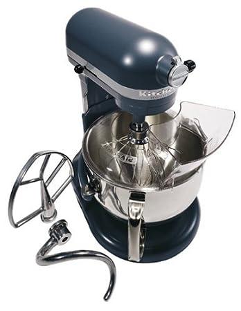 KitchenAid Professional 600 Series KP26M1XER Bowl Lift Stand Mixer, 6 Quart,  Blue Steel