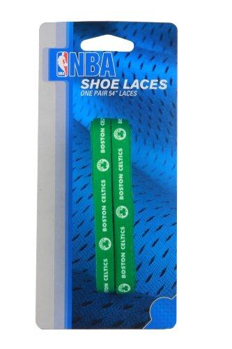 NBA Boston Celtics 54-Inch LaceUps Shoe Laces (Nba Celtics Basketball Shoe)