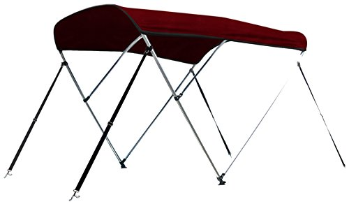 Leader Accessories 3 Bow Burgundy 6'L x 46