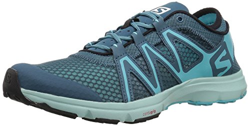 Salomon Women's Crossamphibian Swift W Trail Running Shoe, Mallard Blue, 8.5 M...