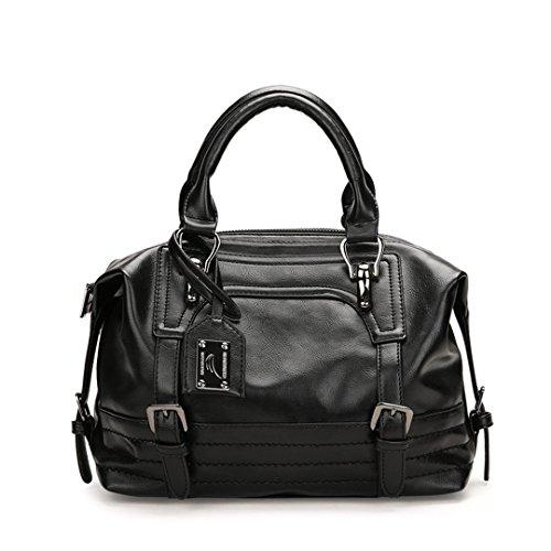 Femmes à à Sac Vintage Black Handbag en Crossbody cuir Sacs bandoulière Sentsreny Bag Femme main Femmes Luxury PEwdav