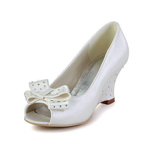 7 Heel35 Col Tacco MinitooScarpe 5cm DonnaBeigeivory WE2eDIbYH9