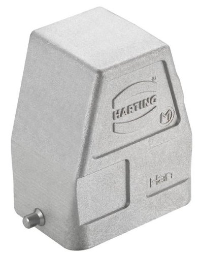 HARTING 19628060547 Heavy Duty Connector Hood, M32, Han EMC/B, High Temp Series, 90°, Aluminium Body