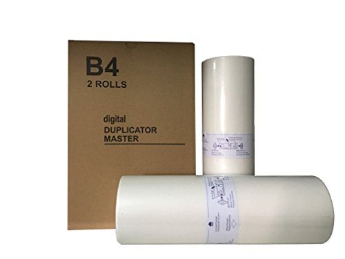Compatible Risograph Master (Box of 2 Wholesale Widgets Brand S-4876 CZ B4 Compatible Masters. These Masters Are for Use in The Risograph CZ100, CZ180, and CZ1860 Duplicators.)