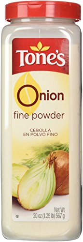 Tone's Onion Powder - 20oz shaker