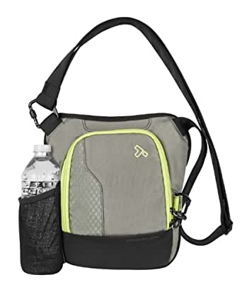 Travelon Anti-Theft React Small Crossbody, Rock, One Size
