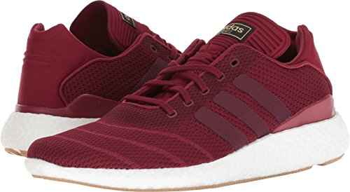 Burgundy Footwear - adidas Skateboarding Men's Busenitz Pure Boost PK Collegiate Burgundy/Mystery Ruby/Footwear White 10 D US