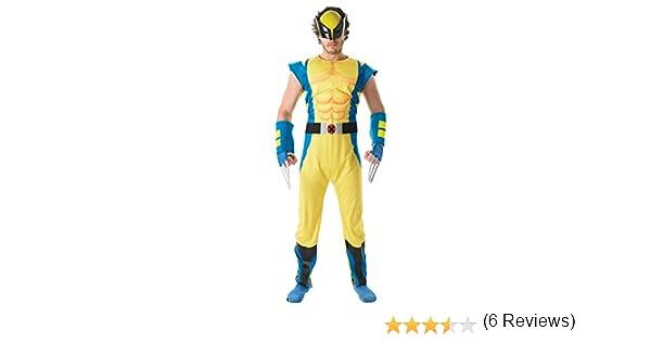 Rubies Disfraz Oficial de Marvel Wolverine Deluxe, para Adulto ...
