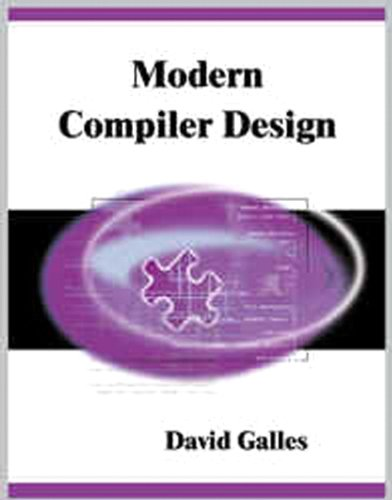 Modern Compiler Design by Brand: Addison-Wesley