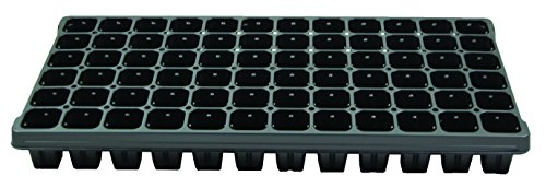 72 Cell Vented Plug Tray - Propagation/Seed Starting Tray - 100 trays by Growers Solution by Grower's Solution