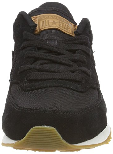 Converse Thunderbolt Ox Black/Egret/White, Sneaker Unisex – Adulto Schwarz (Black/Egret/White 001)