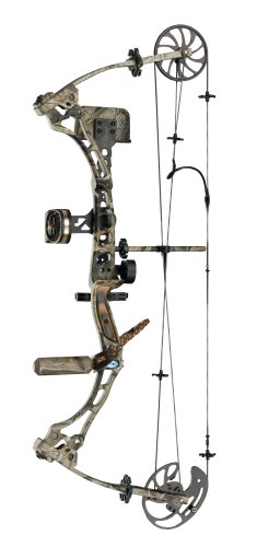 Diamond 48335 Black Ice Timberline Compound Bow Package (Draw Length: 29 Inch, Right Hand)