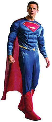 Rubie's Men's Superman Deluxe Dawn of Justice Adult Superhero Halloween Costume