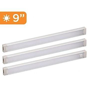 Amazon Com Black Decker Led Under Cabinet Lighting Kit 3 Bars 9 Inches Each Diy Tool Free