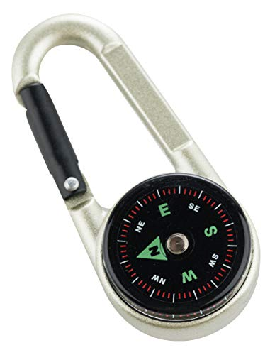 - AceCamp Carabineer Compass with Thermometer