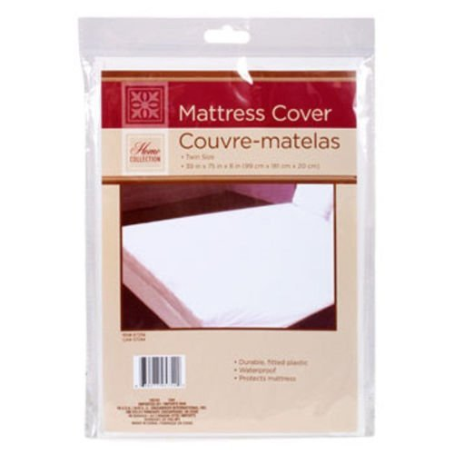 Twin Size Waterproof Mattress Cover - Hypoallergenic Fitted Protector for Potty Training, Bed Wetters, Allergies, Dust Mites, Bed Bugs, and More ()