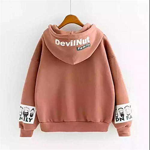 MIBKLPG Neue Frauen Kapuzenpullis Wärmen Langärmliges Sweatshirt Buchstabe Drucken Art Und Weisefrauen Sweatshirt Rot