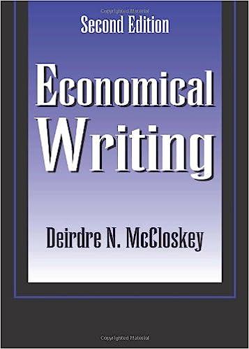 Amazon economical writing 9781577660637 deirdre mccloskey books economical writing 2nd edition fandeluxe Images