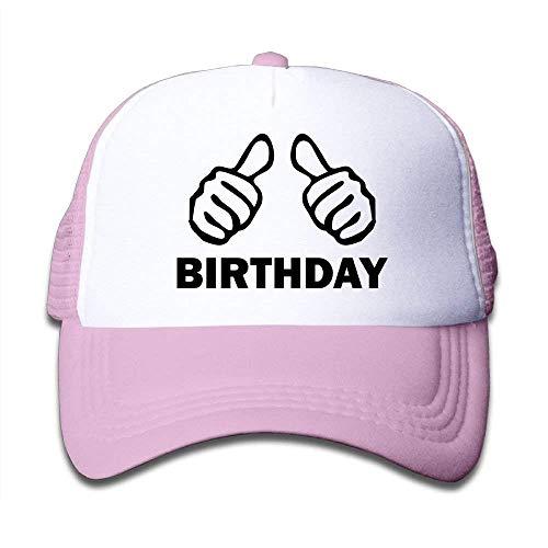 Margie D Happy Birthday 8 Boy's Cute Adjustable Mesh Baseball Hat