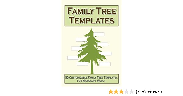 amazon com family tree templates