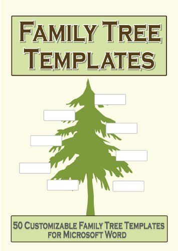 Amazon.com: Family Tree Templates
