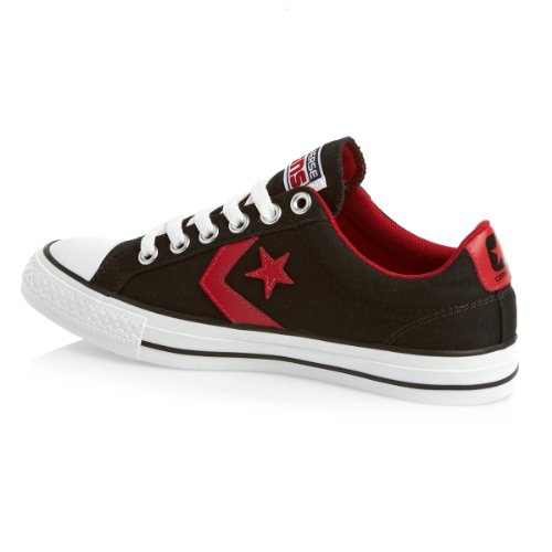 Player Star Ox Ev Converse Noir Mode Baskets Canvas Mixte Adulte 45wxqUWPv