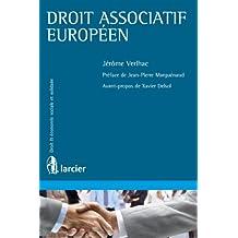 Droit associatif européen (Économie sociale et solidaire) (French Edition)