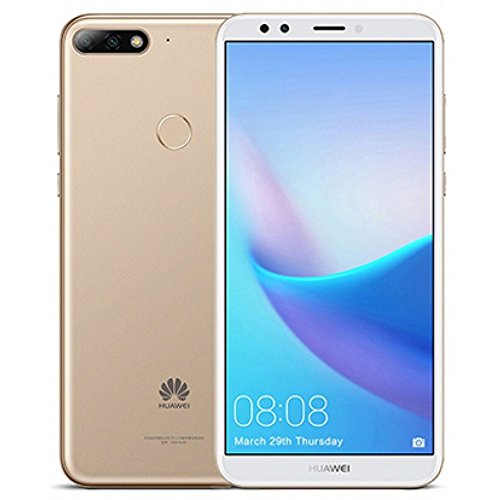 "41oR8pmyUjL Huawei Y7 2018 LDN-LX3 5.99"" Qualcomm Snapdragon 16GB 2GB RAM DUAL SIM A-GPS Fingerprint Factory Unlocked No Warranty US (Gold)"