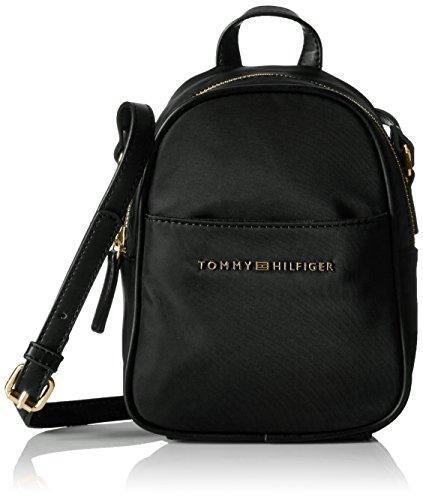 tommy-hilfiger-juliette-nylon-backpack-crossbody-black