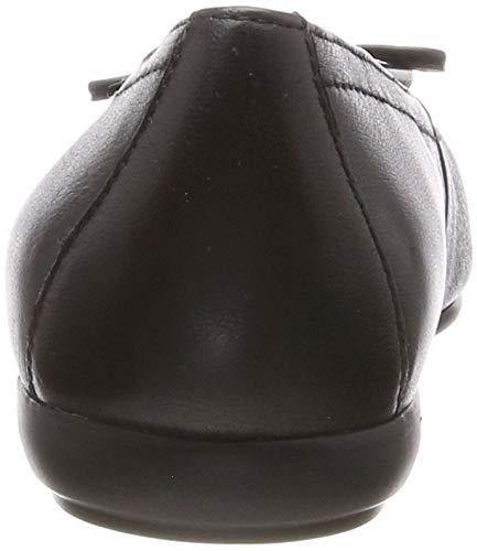 black D Ballerines Noir D C9999 Femme Geox Annytah wO6SZY