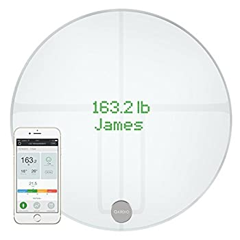 Image of QardioBase2 WiFi Smart Scale and Body Analyzer: monitor weight, BMI and body composition, easily store, track and share data. Free app for iOS, Android, Kindle. Works with Apple Health. Health and Household