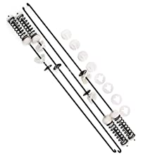 W10247710 Washer Suspension Rod Kit for Whirlpool Kenmore Maytag - Replaces PS2355518