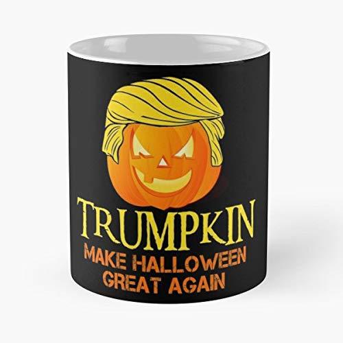 Anti Trump Halloween Costume - 11 Oz Coffee