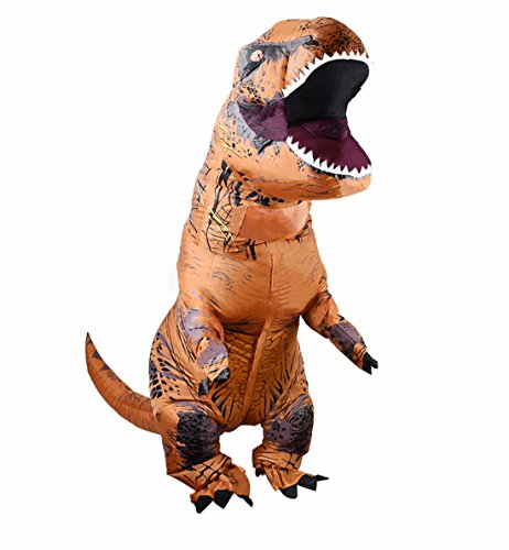 ANOTHERME Inflatable Dinosaur T Rex Fancy Dress for Adults Halloween Blow Up Costume